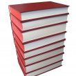 Royalty-Free Stock Photo: Red books