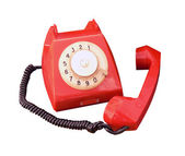 Old vintage phone — Stock Photo
