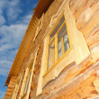 New wooden house - Stock Photo