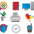 Office & Business icons — Stock Vector #1379625