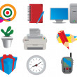 Royalty-Free Stock Vector Image: Office & Business icons