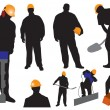 Royalty-Free Stock Vector Image: Workers
