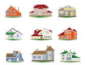 Houses — Stock Vector