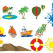 Tourism icons — Vector de stock #2379148