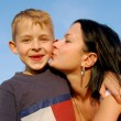 Royalty-Free Stock Photo: Mother and son