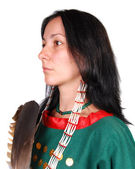 Female native American — Stock Photo