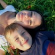 Young mother with son — Stock Photo