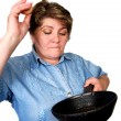 Stock Photo: Woman prepares