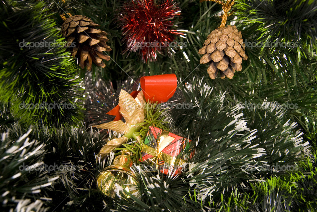 Christmas still life — Stockfoto #1100510