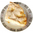 Stock Photo: Piece of apple pie