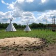 Stock Photo: Native Americsheleter - teepee