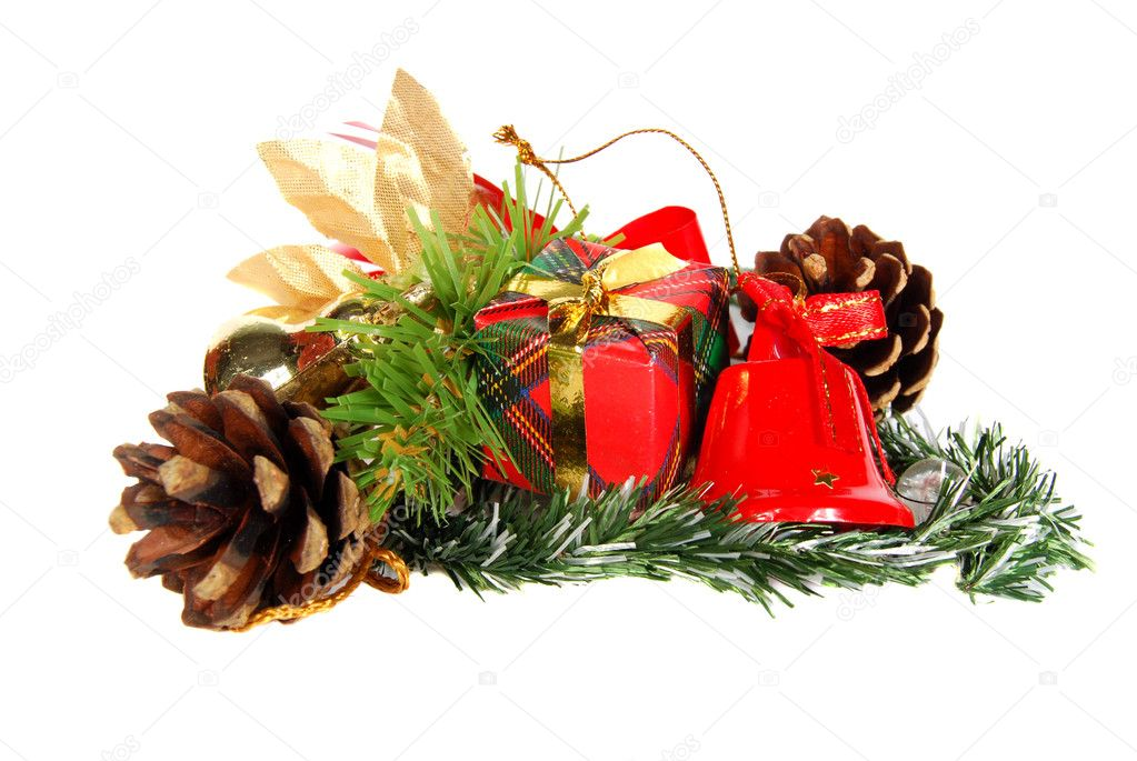 Christmas still life — Foto de Stock   #1321439