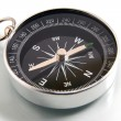 Stock Photo: Compass on a white background