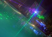 Night pool — Stock Photo