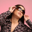 Royalty-Free Stock Photo: Girl portrait with sunglasses
