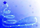 Blue winter background — Stock Photo