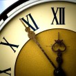 Antique clock face — Stock Photo