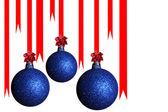 Christmas ball isolated on white — Stock Photo