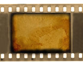 Empty vintage 35 mm frame film — Stock Photo