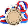 Medal and color Ribbon - Stock Photo