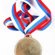 Medal and color Ribbon — Stock Photo #1030564