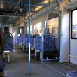 Inside of modern train — Stock Photo #1035009