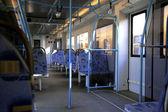 Inside of modern train — Stock Photo
