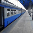 Train in station - Stock Photo