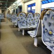 Inside of modern train — Stock Photo #1056823