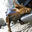 Royalty-Free Stock Photo: Bull in NY Wall Street