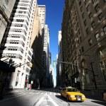 Classical NY, Broadway st, Manhattan — Stock Photo