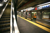New yorker u-bahn, times square station — Stockfoto