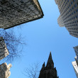 Stock Photo: Classical New York - skyscrapers