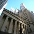 Classical New York - Wall street, — Stock Photo