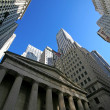 Classical New York - Wall street — Stock Photo