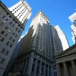 Classical New York - Wall street,  skysc — Stock Photo