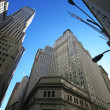 Classical New York - Wall street, Stock - Stock Photo
