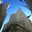 Classical New York - Wall street, Stock — Stock Photo
