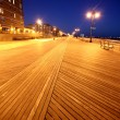 Classic NY, evening in Brighton Beach — Stock Photo