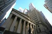 Classical New York - Wall street, — Stock Photo