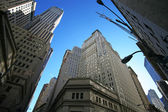Classica azione di new york - wall street — Foto Stock