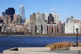 классический вид нью-йорк - лонг-айленд, мань — Стоковое фото