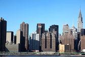 Classical New York- view to Manhattan — Stock Photo
