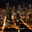 Nighttime in Seattle — Stock Photo