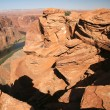 Stock Photo: Colorado River, Horseshoe Bend,Arizona