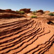 Stock Photo: Erosion in rock, Grand Canyon Nation