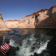 Glen Canyon National Recreation area,Lak — Stock Photo