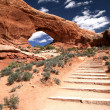 Arches National Park in Utah, USA — Stock Photo