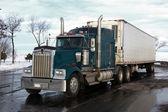 Classic american truck — Stock Photo