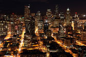 Nighttime in Seattle — Stockfoto